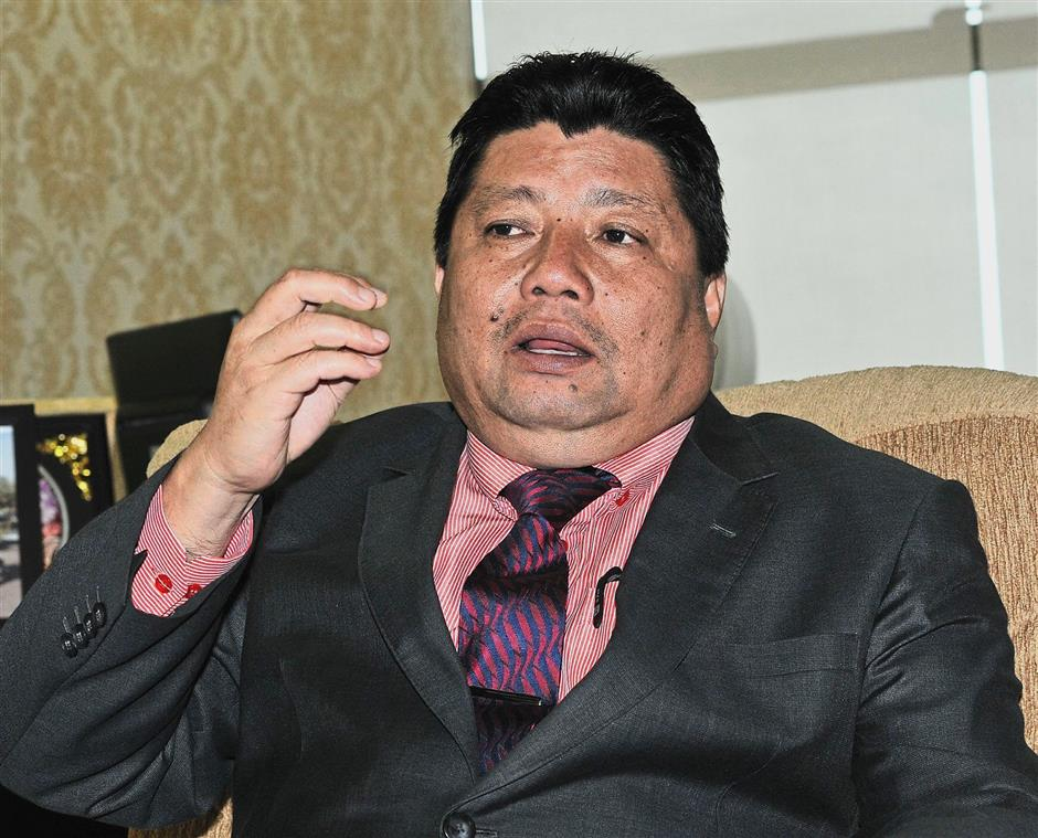 Johor Works, Infrastructure and Transport committee chairman Mazlan Bujang