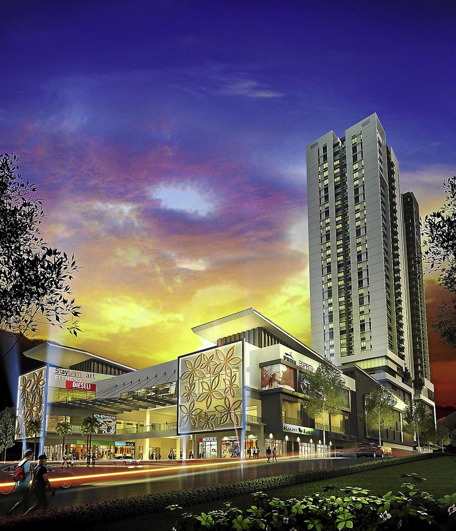 One of the many amenities planned for 8Kinrara, a mall.