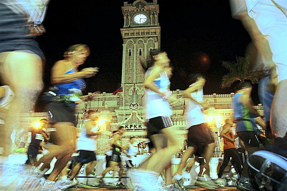 The Standard Chartered KL Marathon must represent the city by passing by some of its landmarks.