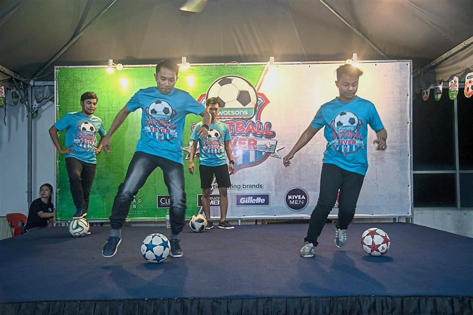 There were plenty of activities for everyone at the Watsons Malaysia viewing party in Bukit Jalil, Kuala Lumpur.