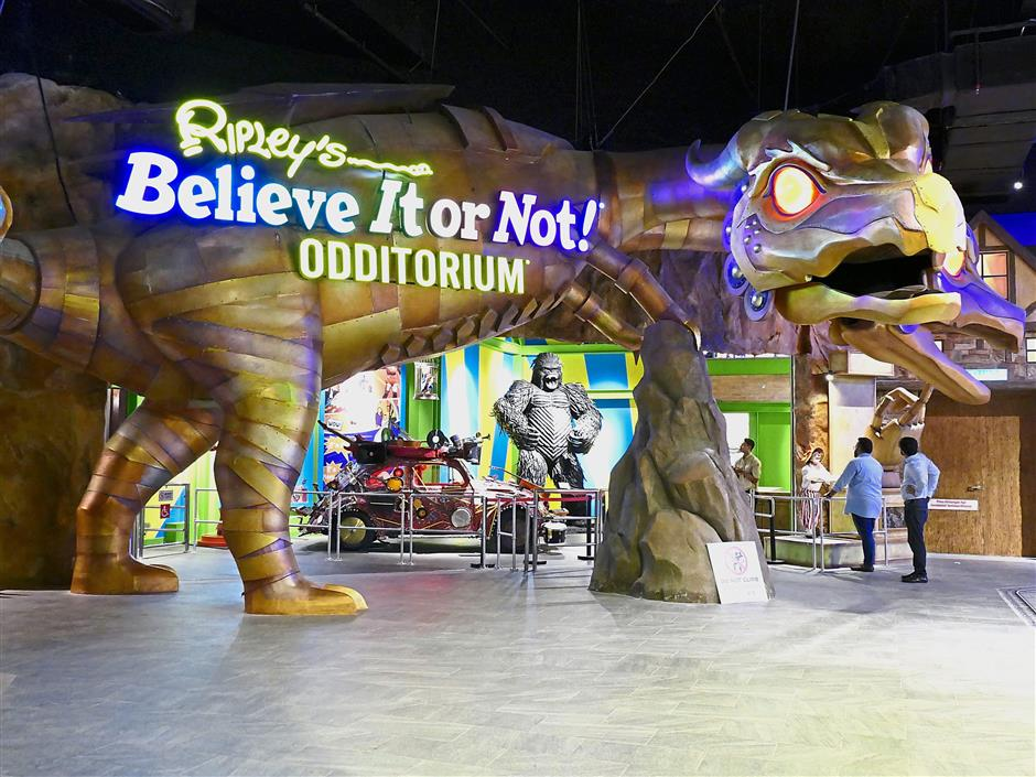 Ripley's Believe It Or Not Odditorium brings the world's most intiguing objects to its visitors.