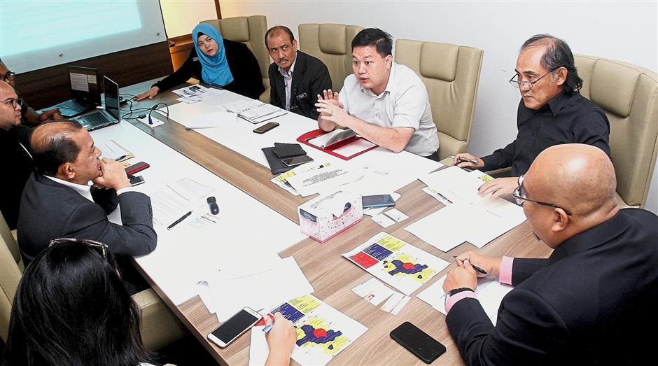 The first meeting to thrash out problems in the parking agreement between DBKL and YWP, was also attended by parking contractor VS.