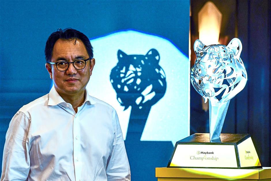 KUALA LUMPUR, Dis 4 -- President and Chief Executive Officer of Malayan Banking Bhd (Maybank) Datuk Abdul Farid Alias during Maybank Championship Dinner today.--fotoBERNAMA (2017) COPY RIGHT RESERVED