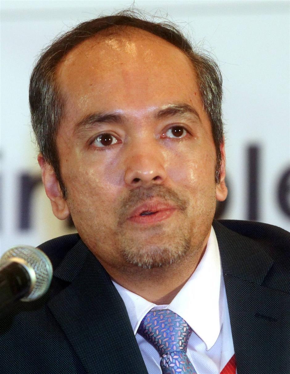 Deputy CEO (strategy) Emoloyees Provident Fund Malaysia, Tunku Alizakri Raja Muhammah Alias.AZHAR MAHFOF/The star