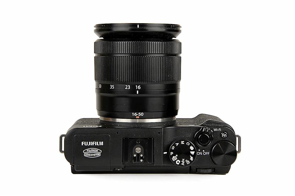 WiFi: the Fuji X-M1's FN button also doubles as a WiFi ON/OFF button in playback mode
