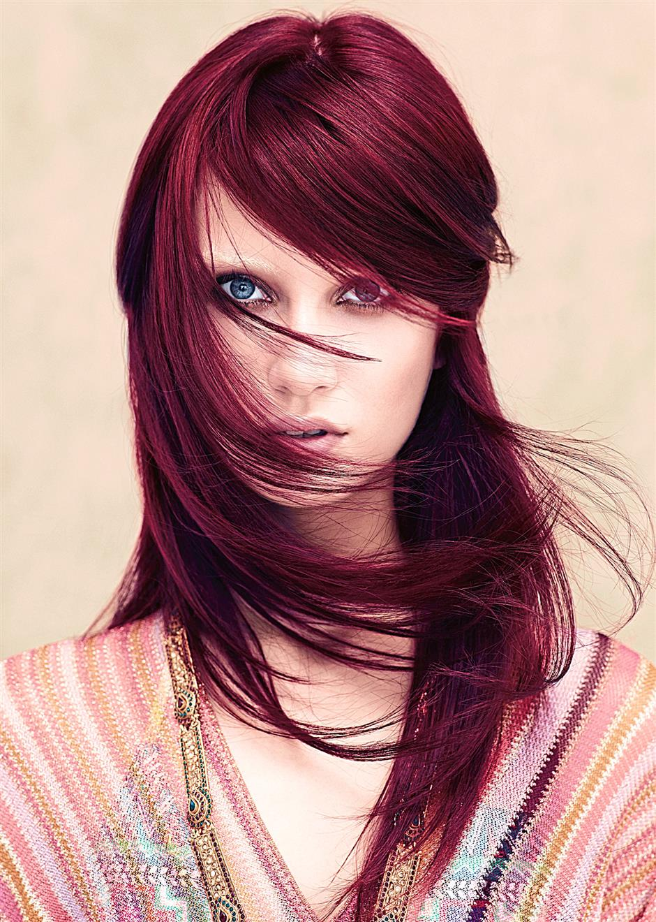 You can choose to colour your hair the safe way using Aveda which has natural plant-based ingredients.