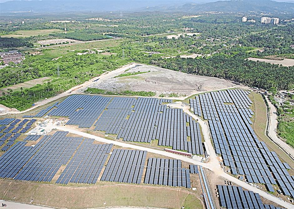 Source of energy: The Integrated Renewable Energy Park that replaces the Pajam landfill.