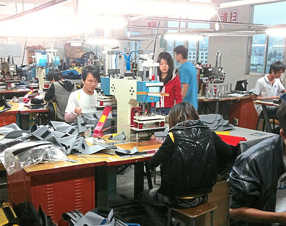 Although production for Hypergear's waterproof bags started off in their Balakong premises, the manufacturing process has since shifted to China due to logistics, material prices as well as the larger technical base of employees to work with.
