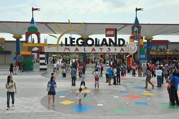 Legoland Malaysia is one of the properties owned by a Khazanah unit. u2014 Filepic