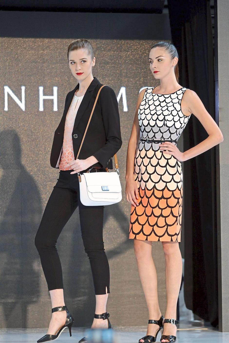 Xxxxxxx: Models showing outfit elegant attires from Debenhams in-house labels. starpic by GOH GAIK LEE/The Star/ 25 April 2015