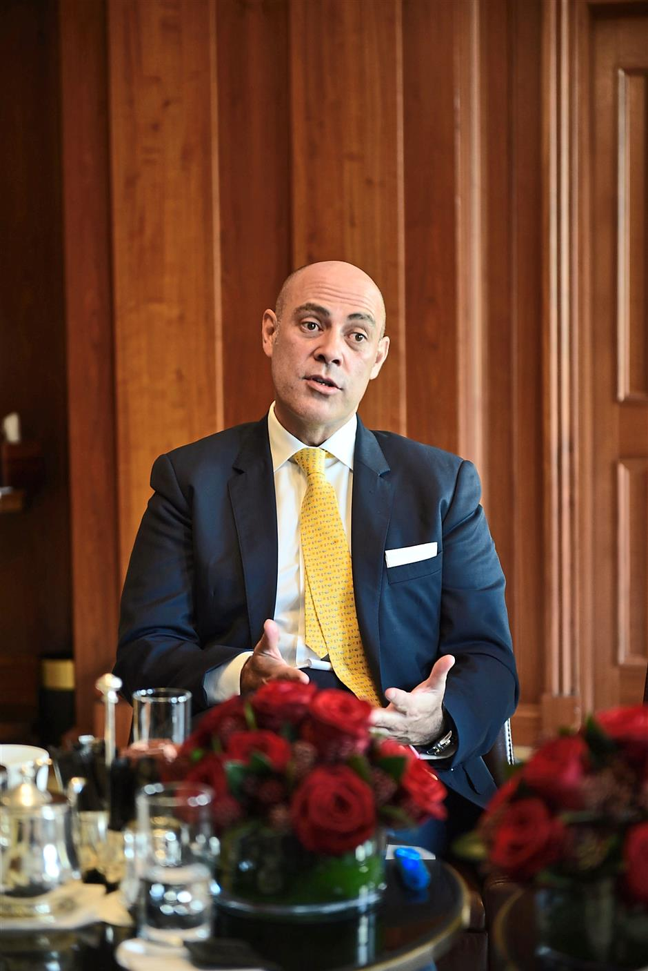 Bernab: 'Kempinski Hotel Kuala Lumpur in the ETP raises the hotel's profile.'