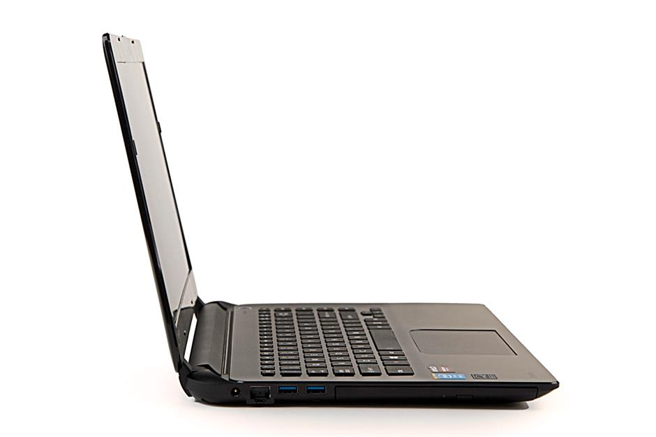 Nice curves: The L40 looks pretty okay for a budget laptop.