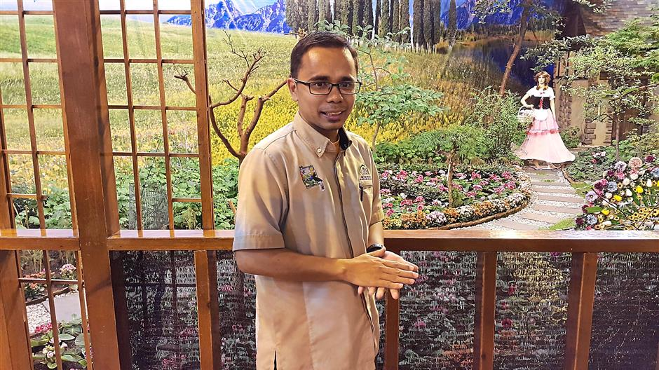 Ahmad Sabirin says upgrading works will continue at several areas of the garden