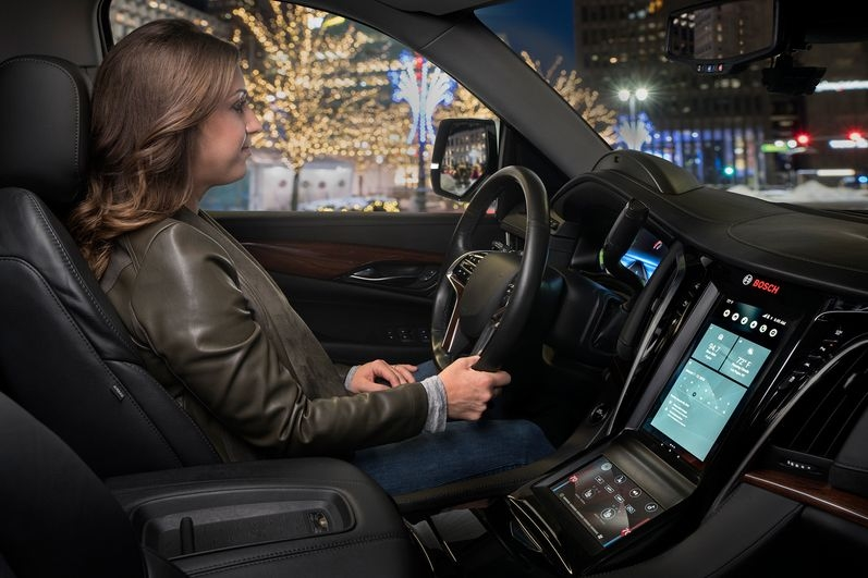 The voice assistant Casey, introduced by the supplier Bosch, recognizes commands in 30 different languages and is trained to understand natural speech patterns. (Handout, only to be used with this dpa trends item. Photo credit to 'Bosch / dpa' mandatory.) Photo: Bosch/dpa-tmn
