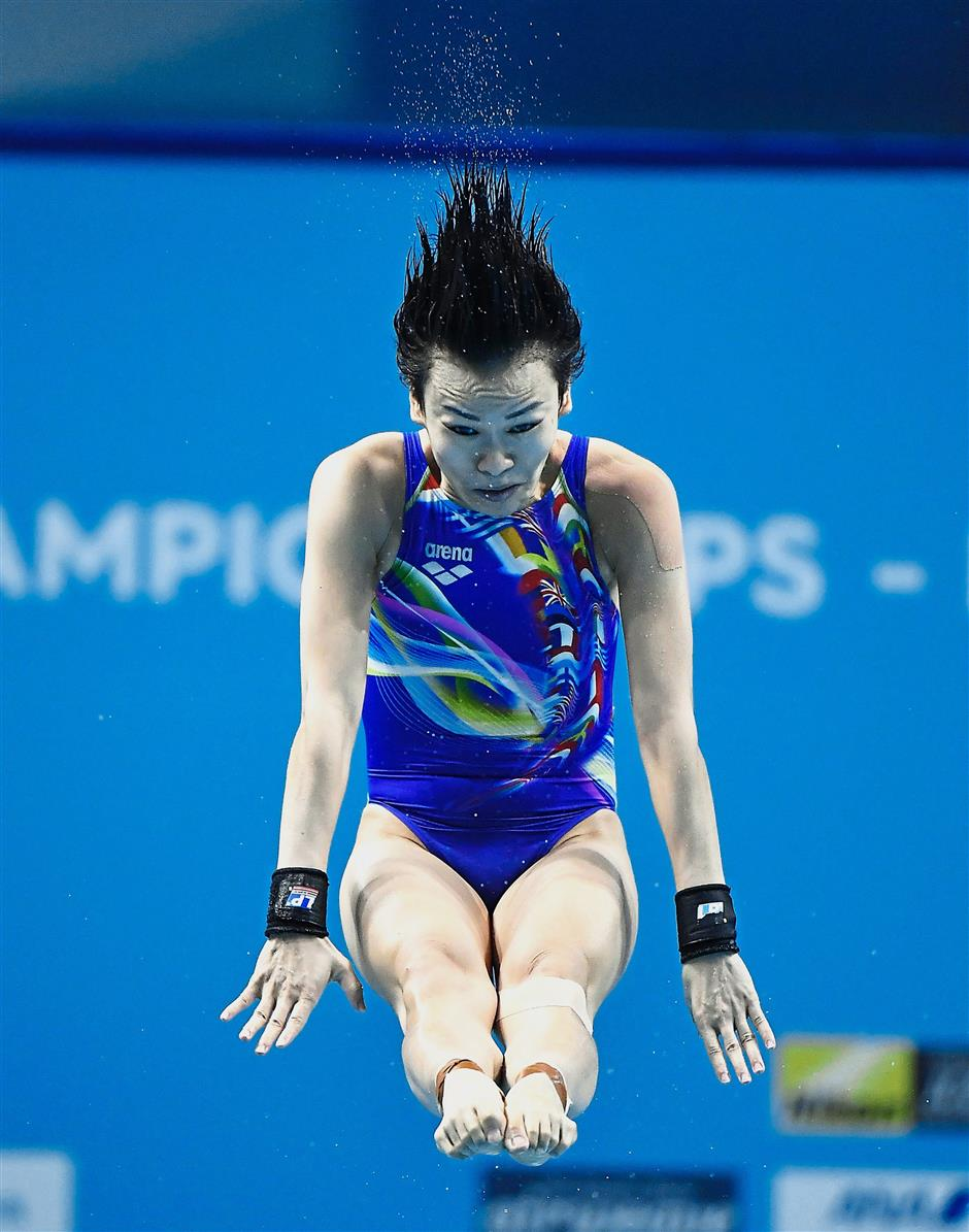 It takes time: Cheong Jun Hoong needs at least six months before she is able to return to pool training.