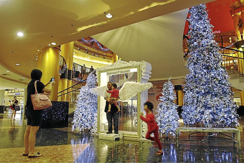 Sunway Pyramid Christmas decoration