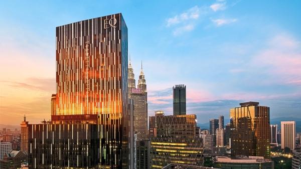 The 52-storey EQ boasts beautiful design details.