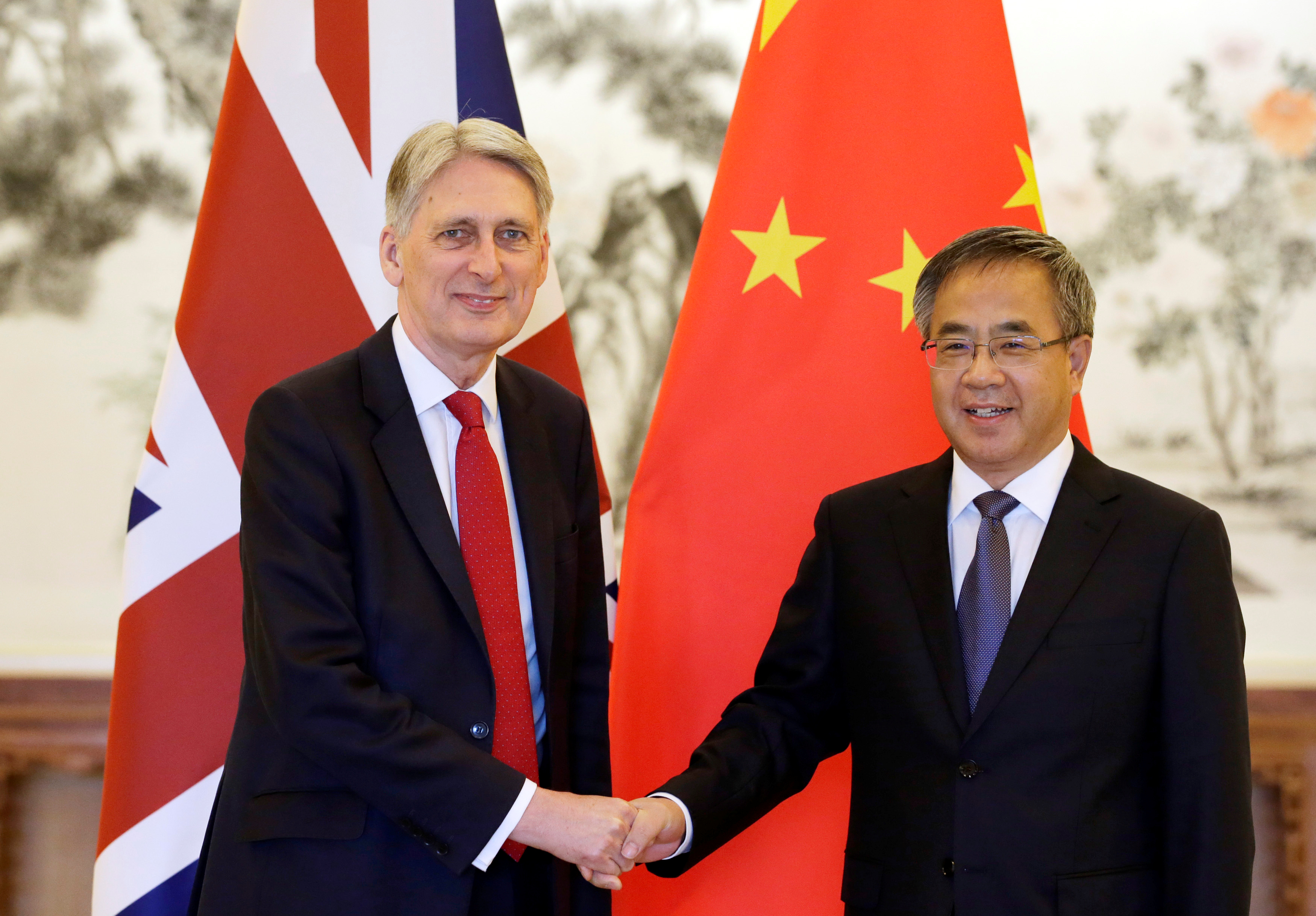 China expresses regret South China Sea issue has harmed UK