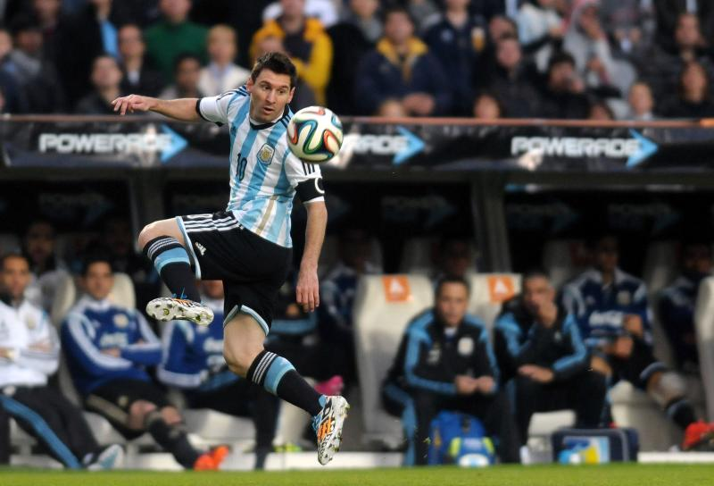 Expect more of these silky touches from Lionel Messi during the World Cup