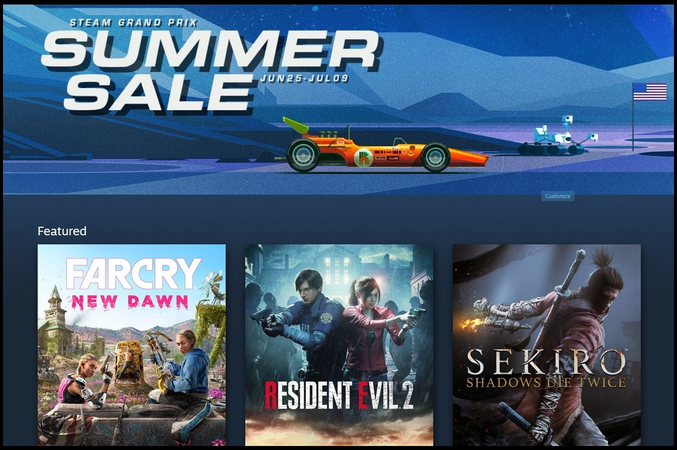 Steam Sale begins, encourages players to play their games | The Star