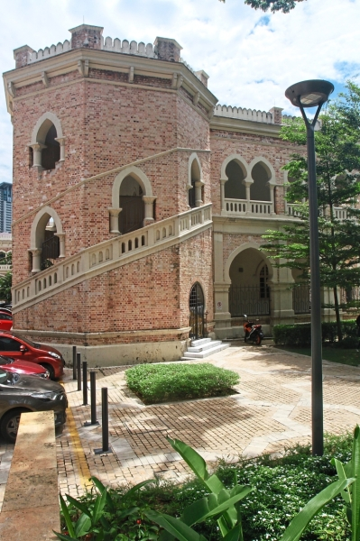 This is exemplary of the charming architecture of heritage buildings in Jalan Raja.