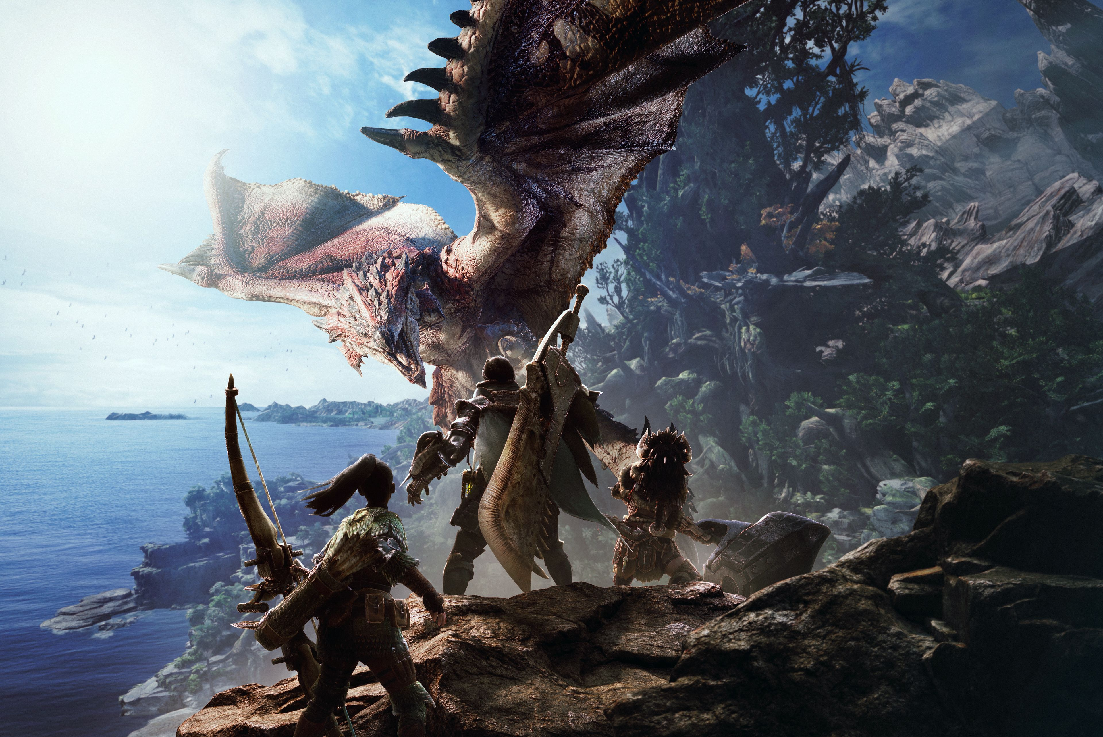 Weekly PC download charts: No Man's Sky, Monster Hunter
