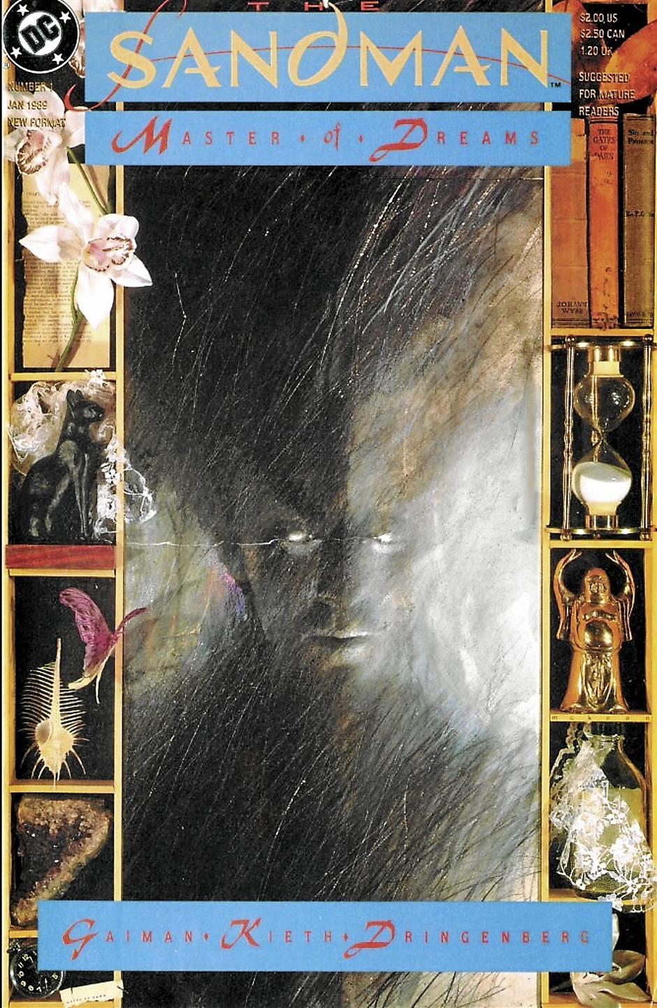 The Sandman #01Writer: Neil GaimanArtists: Sam Keith, Mike DringenbergLetterer: Todd Klein
