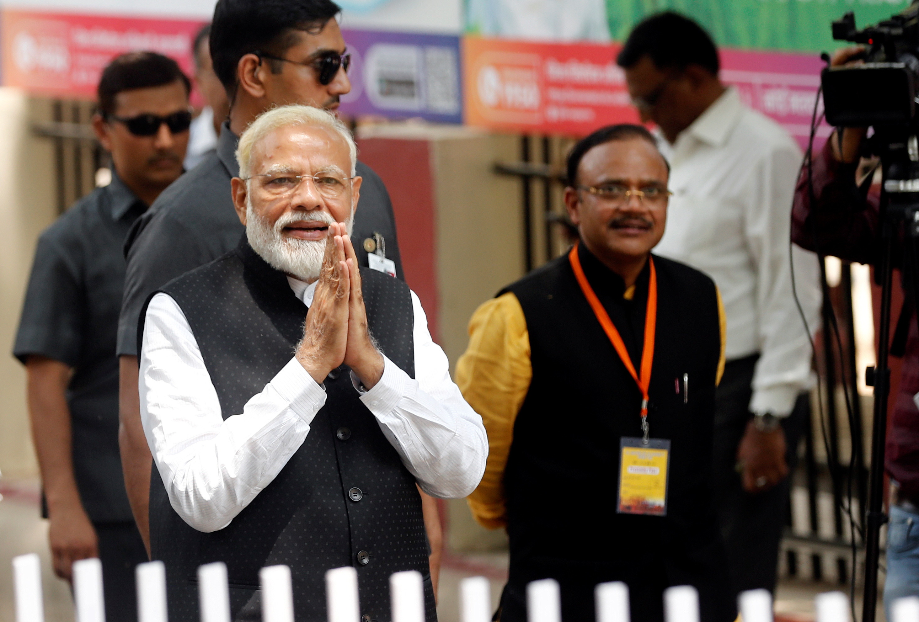At his first news conference in India, PM Modi declines