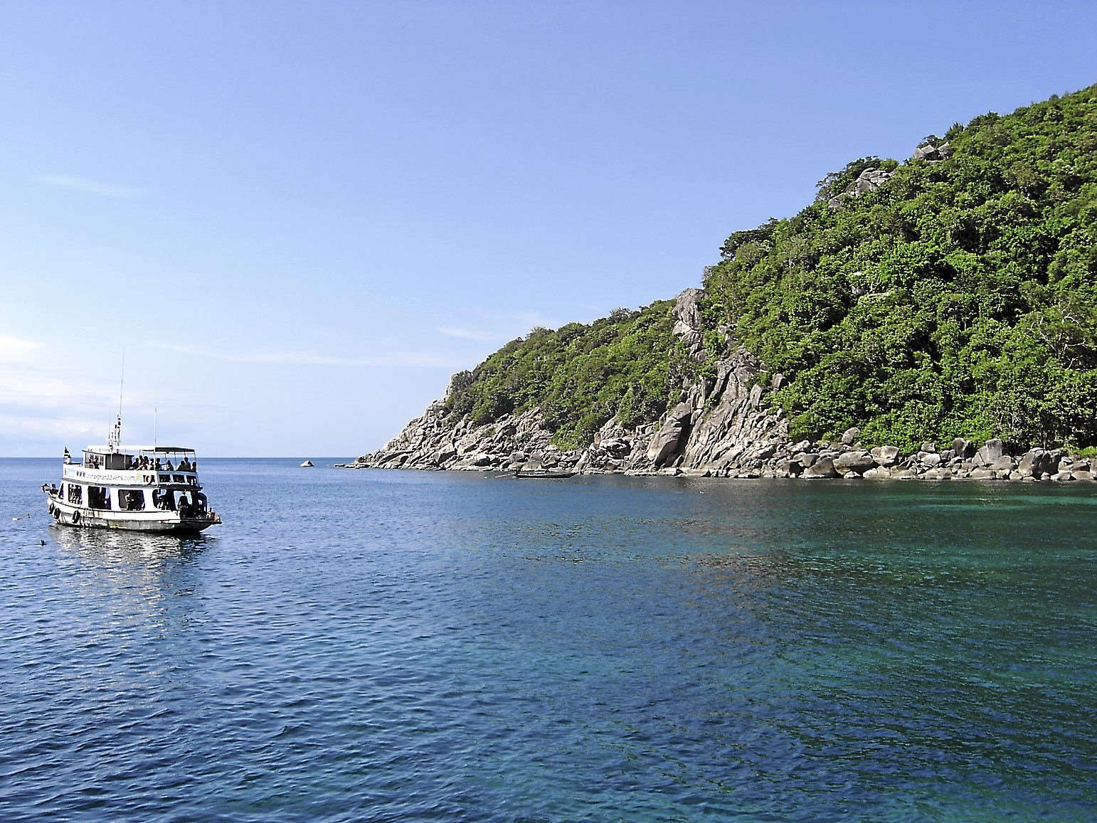 Koh Tao is a diving epicentre. - Photo from Wikimedia Commons