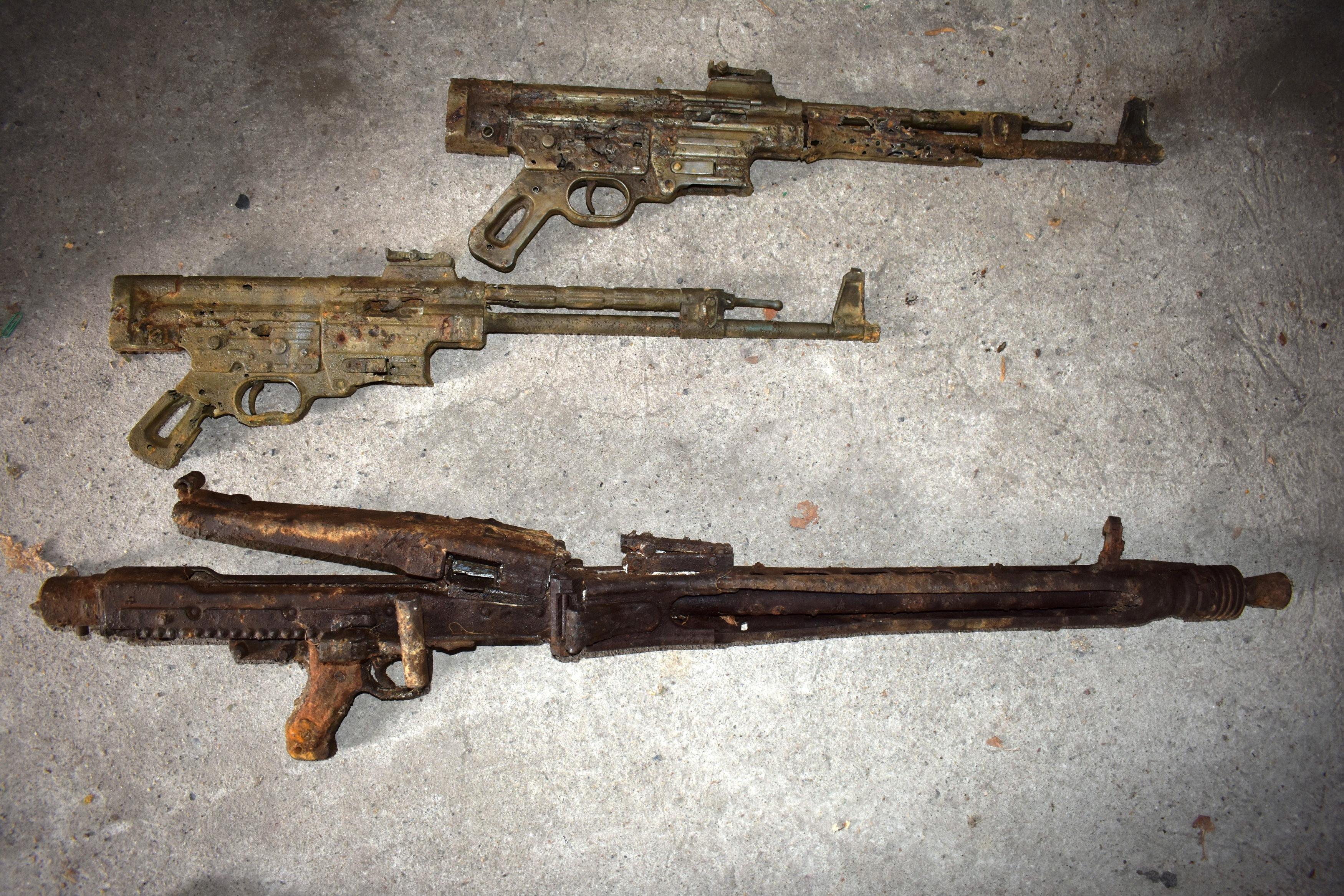 German police seize Nazi-era weapons man said to have found