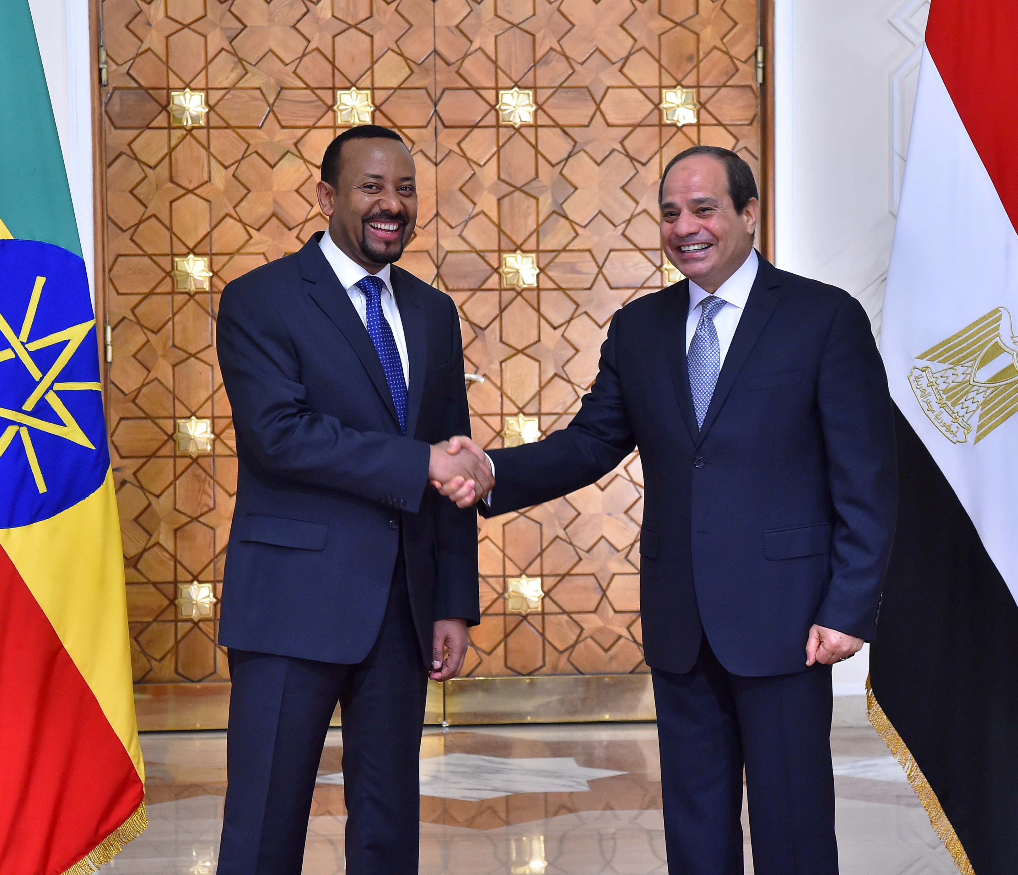 """Image result for ethiopia egypt leaders"""""""