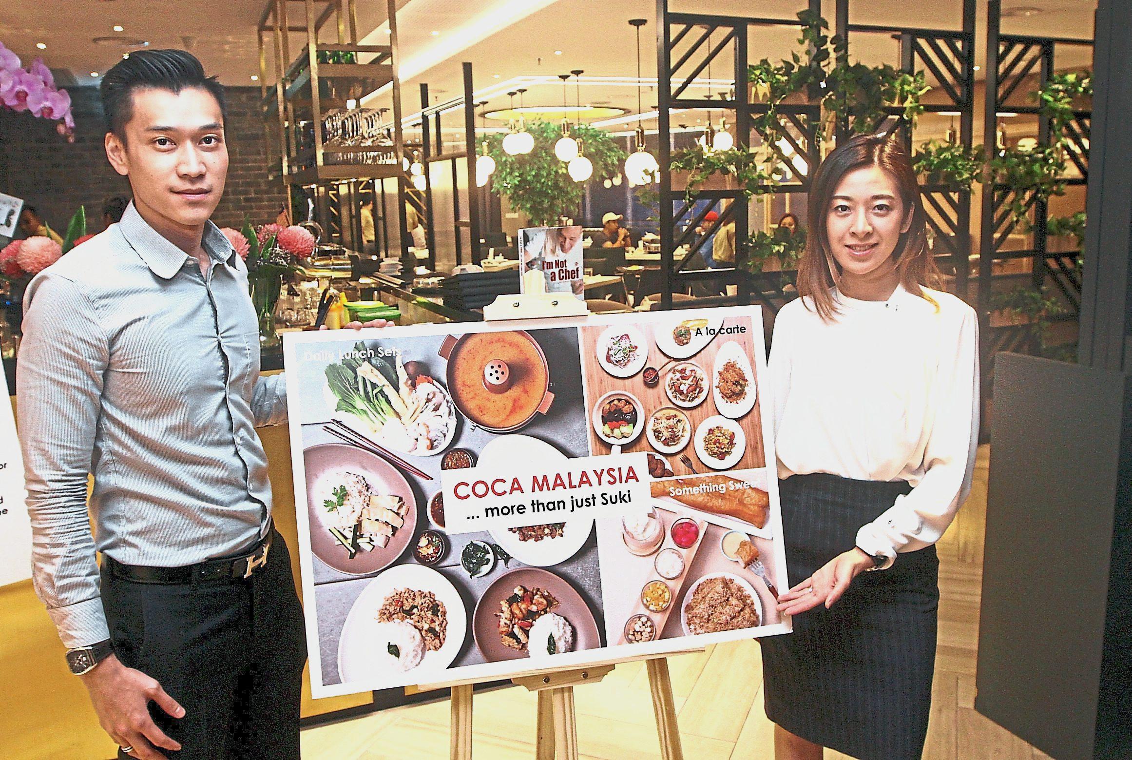Coca Restaurant Kuala Lumpuru2019s owners Shun and Lee.