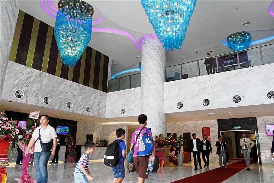 Ample room: Lexis has four hotels with more than 1,450 rooms under its management.
