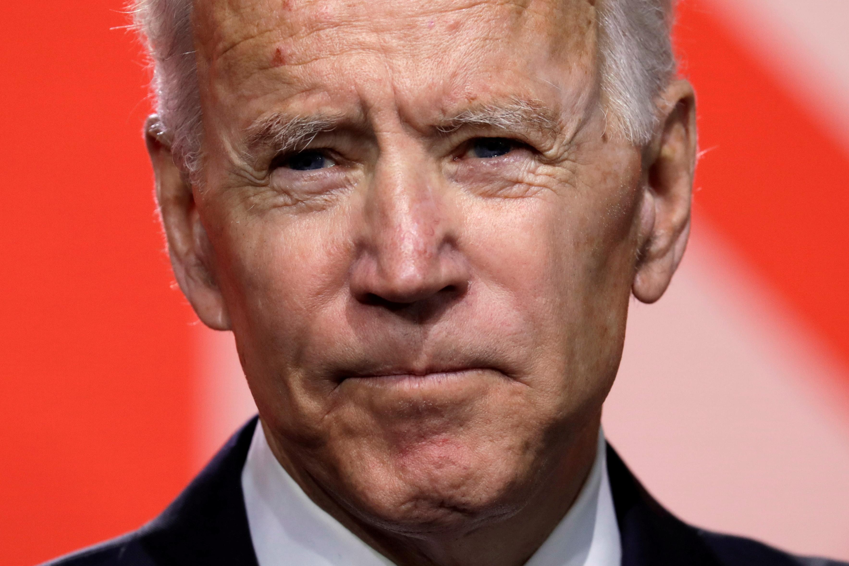 FILE PHOTO: Former U.S. Vice President Joe Biden in Washington, U.S., January 24, 2019. REUTERS/Yuri Gripas