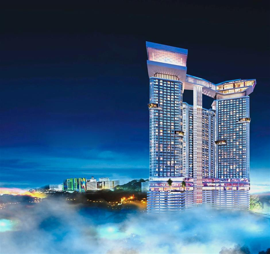 An artist's impression of Grand Ion Majestic, the first six-star serviced suites at Genting Highlands.