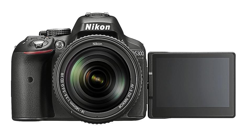 Nikon D5300 has a high resolution 24-megapixel image sensor without an optical low-pass filter