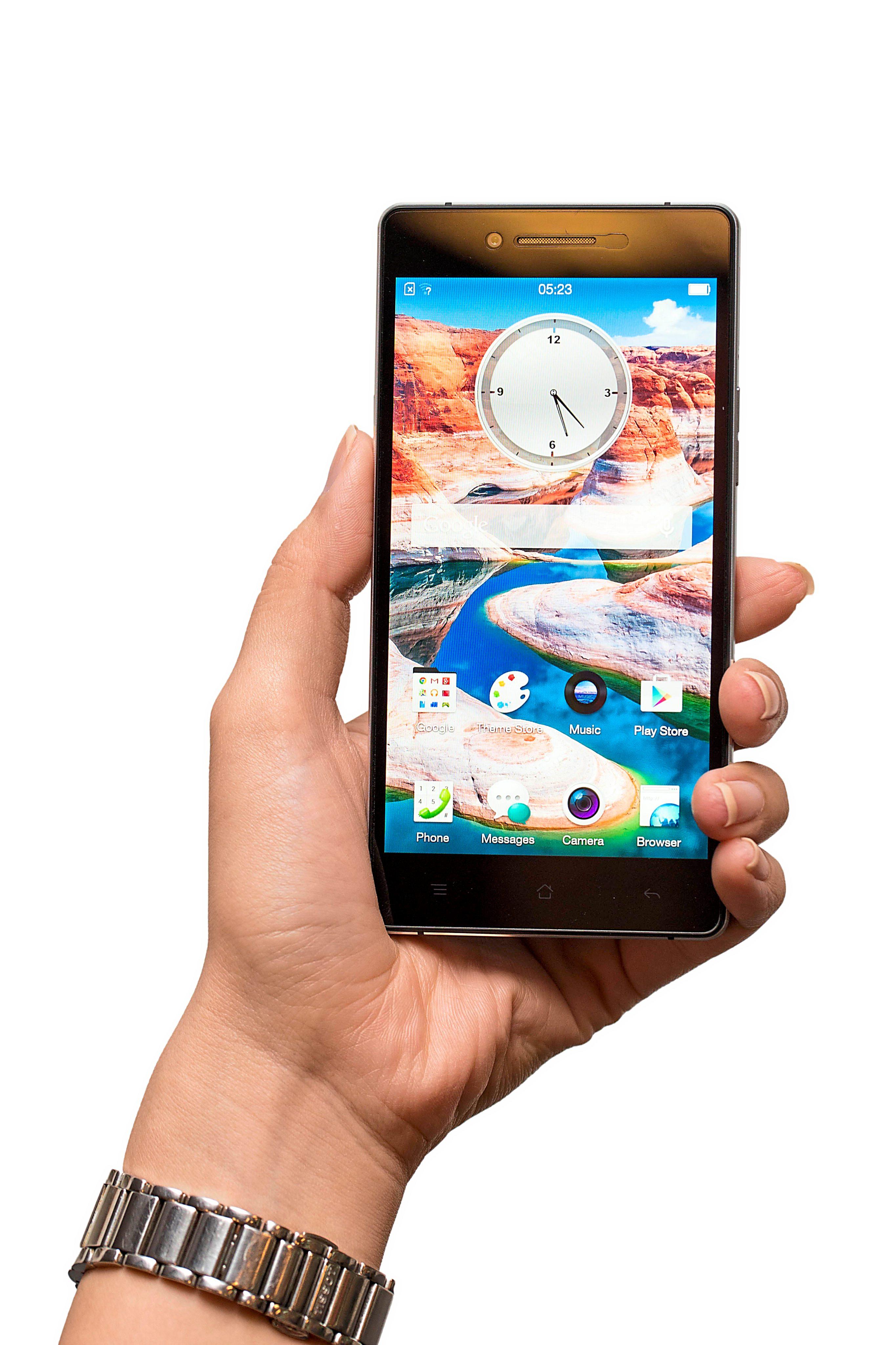 Oppo R1x: Sapphire smartphone | The Star Online