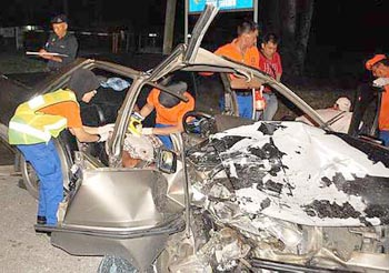 Foreign student breaks arm, leg in crash | The Star Online