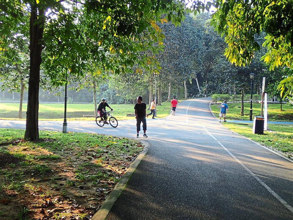 2. Kepong Metropolitan Park. 10 leisure cycling hotspots.