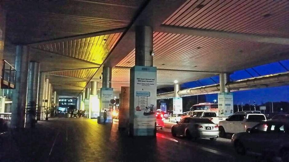 Kota Kinabalu International Airport was hit by a blackout for about an hour on Friday after a electrical trip occurred at its main terminal building.