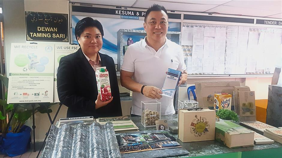 Company does its bit to encourage recycling | The Star Online