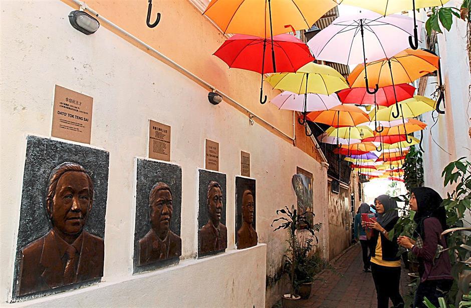 KUALA TERENGGANU JUNE 27 2014:  Kampung Cina Payang memory lane (to go with metro talk of the town story)starpix by zabidi tusin/the star/kuala terengganu.