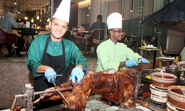Grilled lamb marinated with plenty of herbs and spices is popular with guests. — Photos: SHAARI CHEMAT/The Star