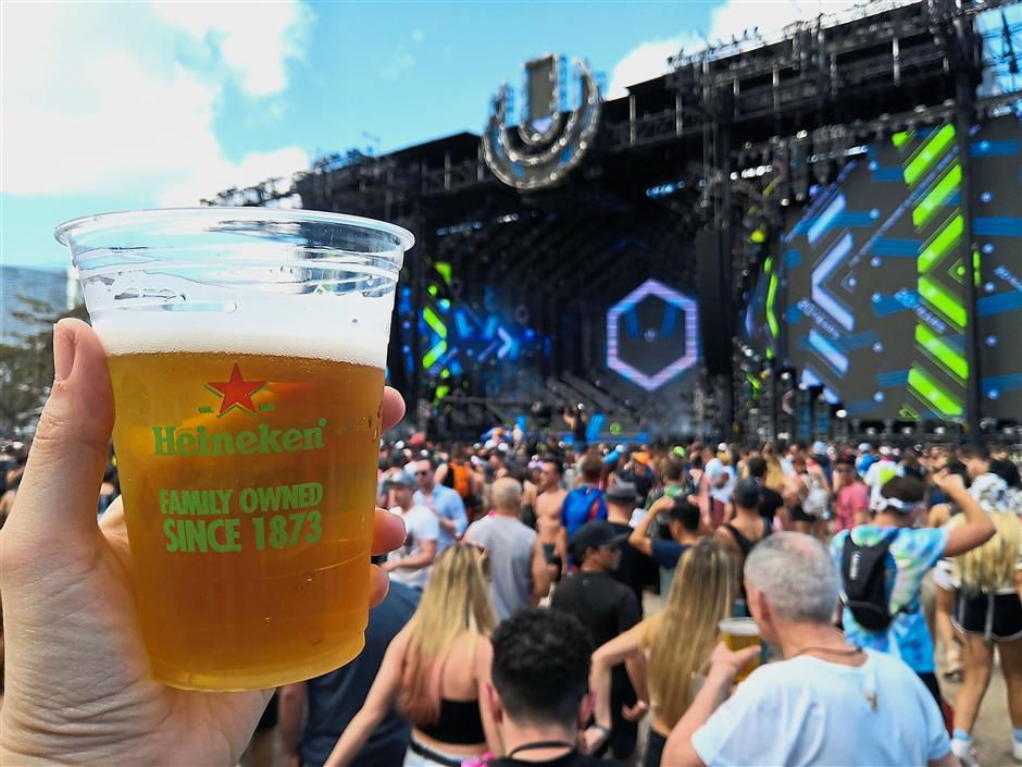 Every year, more than 100,000 electronic music fans from around the world convene in Miami for the Ultra Music Festival.