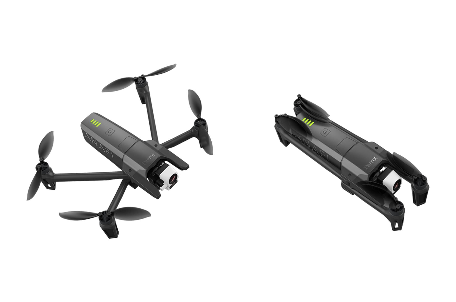 Parrot launches drone equipped with thermal imaging camera
