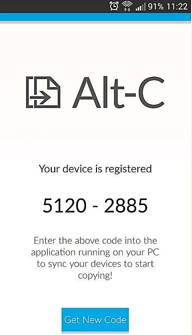 Alt-C app