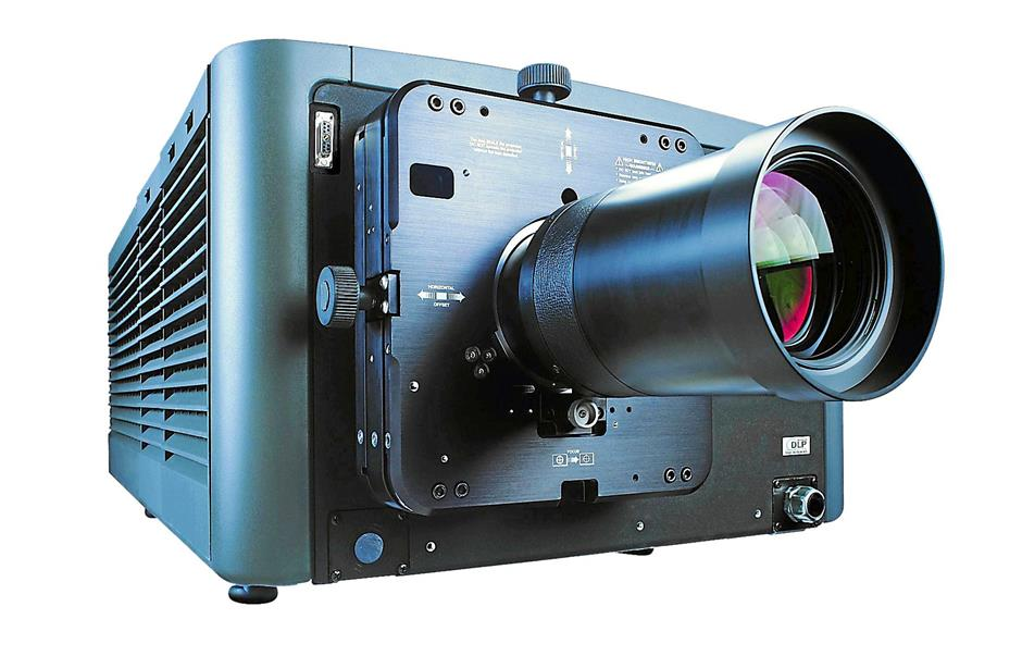 Fully digital: The Christie CP2220 is an example of a modern digital projection system used in cinemas today
