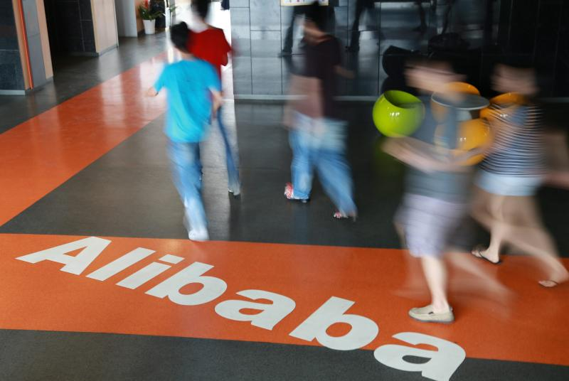 Alibaba\'s tevenue rose 53.7% to US$2.74bil in the three months ending in September, dwarfing Amazon.com Inc\'s 20% growth over the same period - EPA Photo.