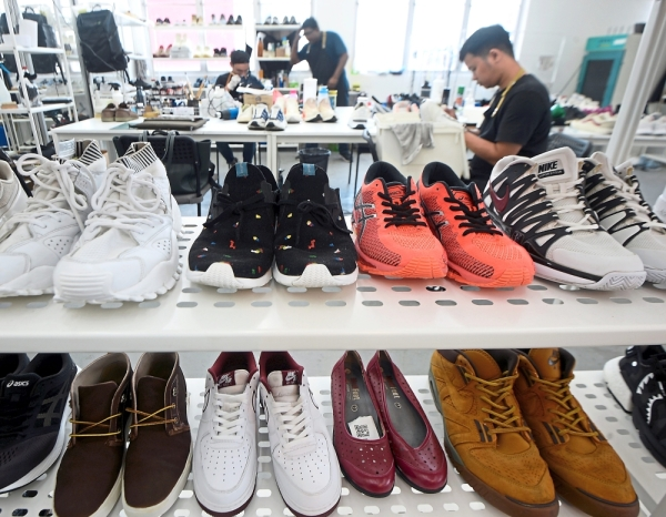 Big market: The sneaker reselling market is a big industry.