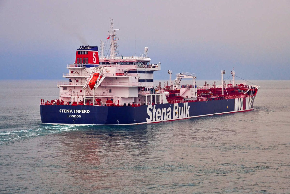 Britain says Iran seizes two oil tankers in Gulf, Iran says captured